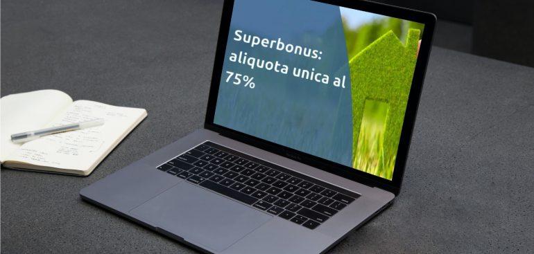 superbonus 75%